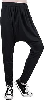 Men Drop Crotch Hip Hop Parachute Hammer Baggy Harem Pants