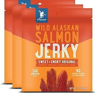 wild pacific keta salmon jerky