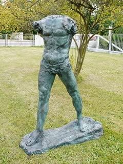 Best rodin the walking man sculpture Reviews