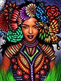 Africa Girl Kits Painting by Numbers Pictures Oil Drawing by Number Canvas Oil Painting Numbers For Adult Home Wall Decor