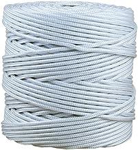 Gevlochten koord van polypropyleen   voor rolluiken, luifels, waslijnen buiten, kassen enz.   Diameter 5 mm in wit