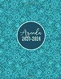 Agenda 2020-2024: Agenda Mensile per 5 Anni   Agenda Giornaliera, Gennaio 2020 - Dicembre 2024, 60 Mesi, Formato 21x27   Copertina Flessibile