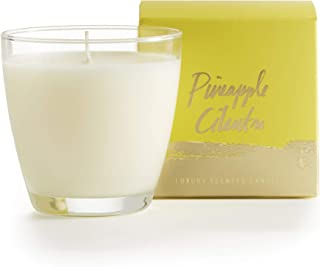 Sponsored Ad - Illume Pineapple Cilantro, Demi Boxed Soy Glass Candle, 4.7 oz, Clear