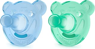 Philips Avent Soothie Shapes Pacifier, Green/Blue, 3+...