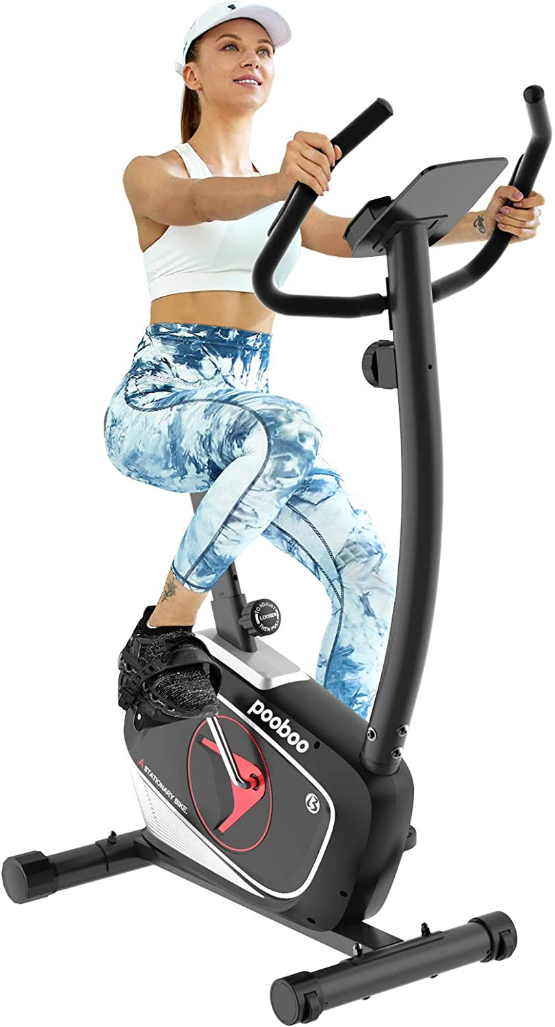pooboo Magnetic Exercise Bike Max 62% OFF Upright Ranking TOP17 Bikes Stationary