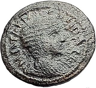1000 IT OTACILIA SEVERA wife PHILIP I RARE Ancient Cibyr coin Good