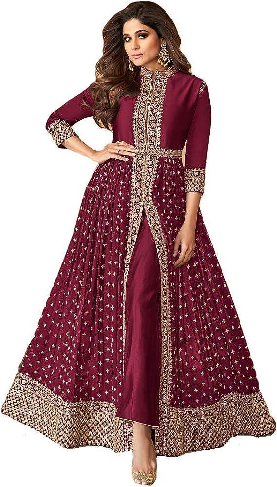 Alamara Fashion Ready to Wear Indian Pakistani Party Wear Wedding Wear Abhay Style Anarkali Suit for Women