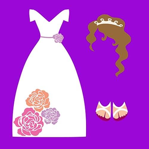 Jogo de Vestir e Maquiar Noiva