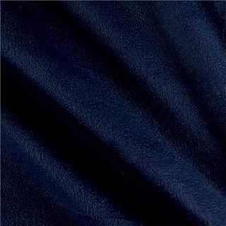 Newcastle Fabrics Polar Fleece Solid Fabric, Navy, Fabric by the yard