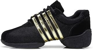 Men and Women's Boost Dance Sneaker/Modern Jazz Ballroom Performance Dance-Sneakers Sports Shoes,Model T01