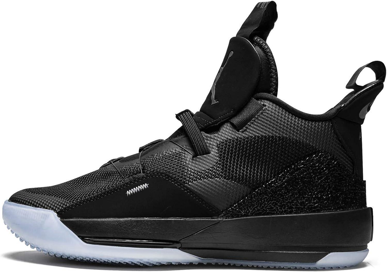 Jordan Nike Air Ranking TOP17 XXXIII Men's Dark Black Basketball Max 48% OFF Grey-Wh Shoes