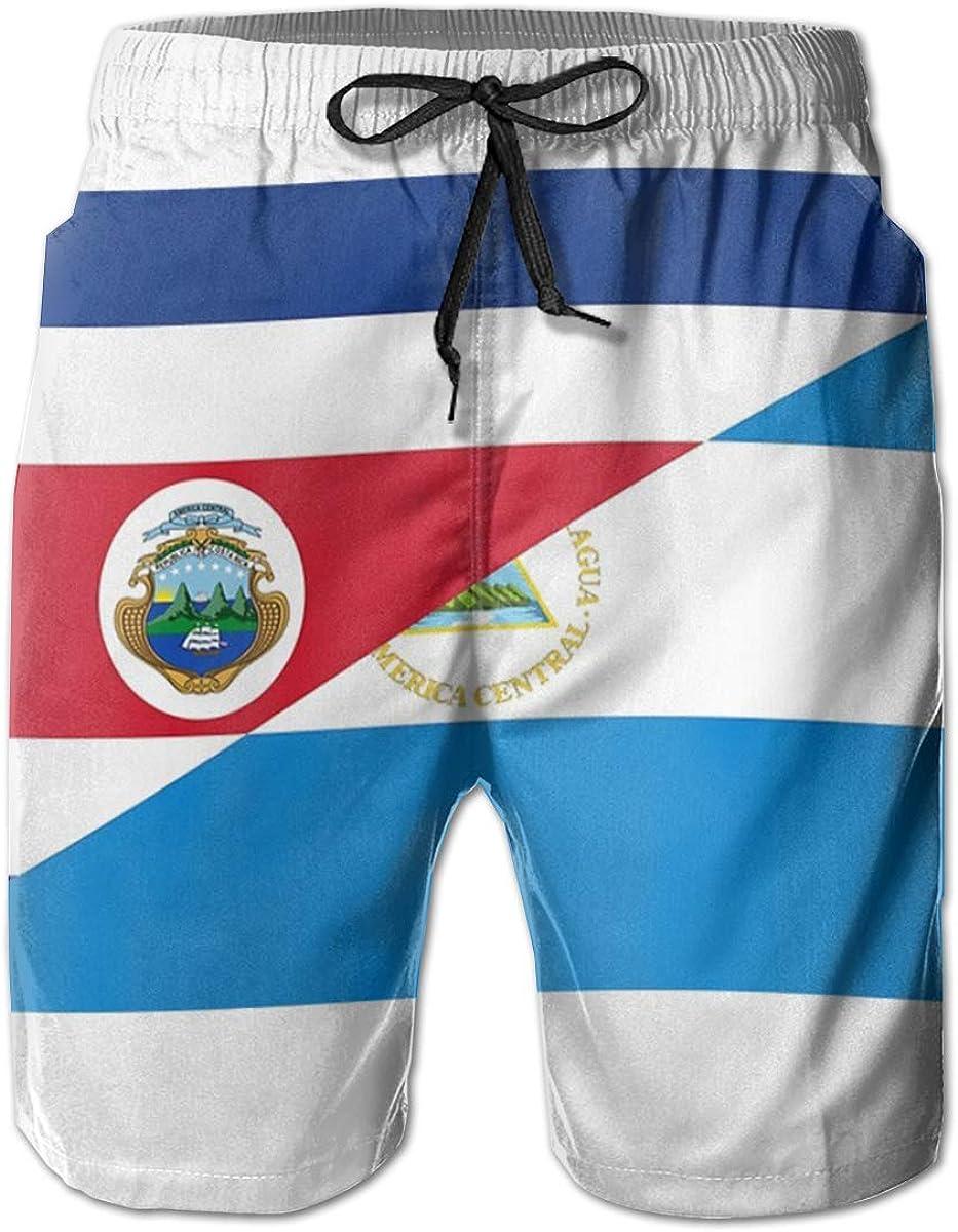 Jiulong Rica Nicaragua Flag Board Bombing new work Shorts Indianapolis Mall Beach Swim Short Pants
