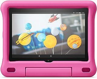 Funda infantil para tablet Fire HD 8 (compatible con la 10.ª generación, modelo de 2020), rosa