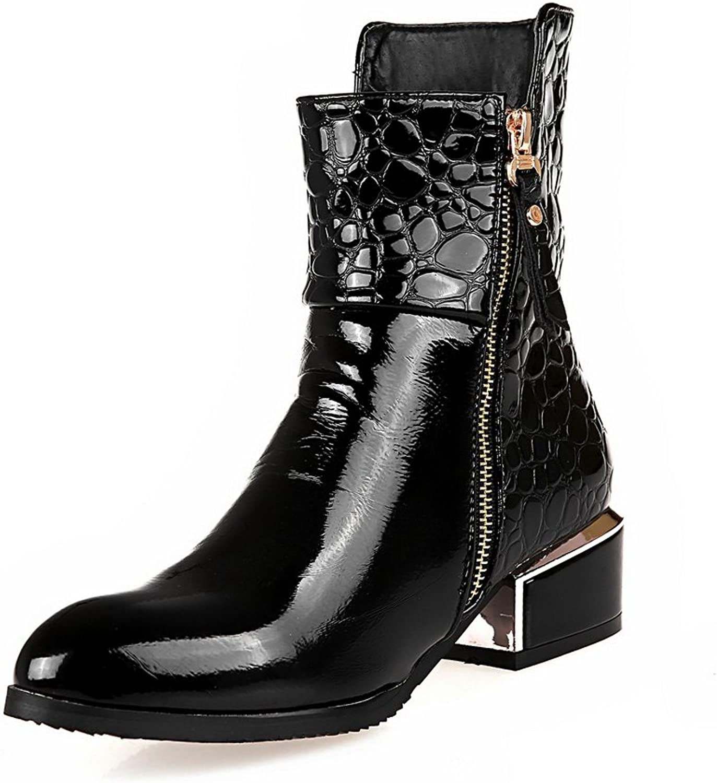AdeeSu Womens Casual Slip-Resistant Comfort Urethane Boots SXC01955