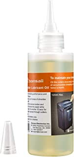 Bonsaii Paper Shredder Lubricant Oil for Home Tools, Extension Nozzle, 4 oz Bottle
