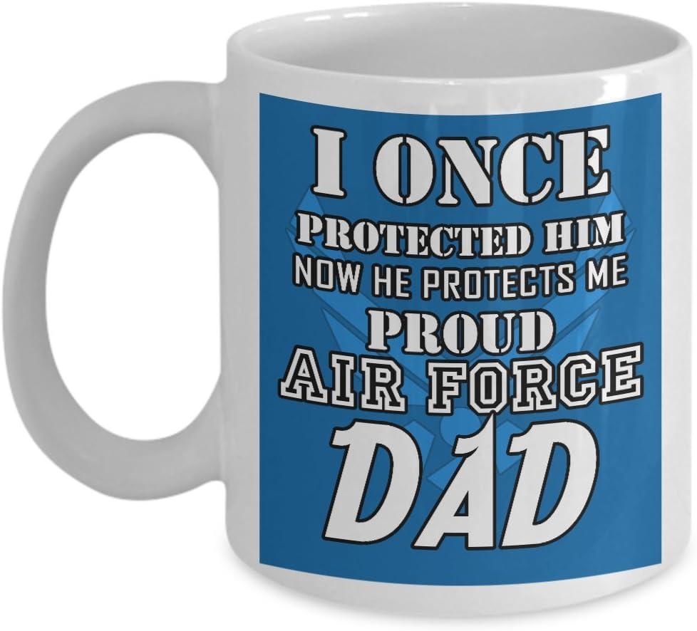 Tumbler Travel Mug Air Force Dad Stainless Steel 20 oz