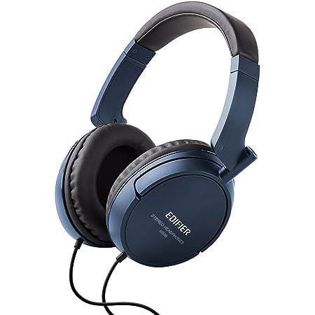 Edifier H840 Audiophile Over-The-Ear Headphones - Hi-Fi Over-Ear Noise-Isolating Closed Monitor Music Listening Stereo Headphone - Blue