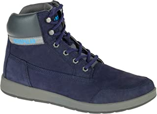 Caterpillar Navy Lace Up Boot For Men