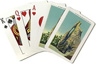 Custer State Park, South Dakota - View of the Needle's Eye in the Black Hills (Playing Card Deck - 52 Card Poker Size with Jokers)