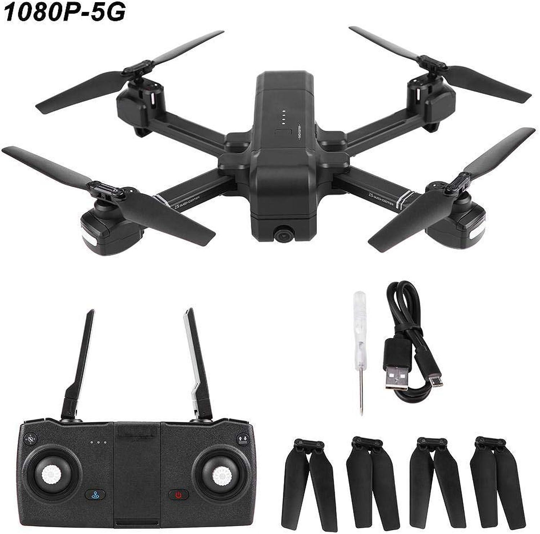 Dilwe Intelligente RC-Drohne, SJ Z5 GPS WiFi-Kamera Faltbare Intelligente Drohnen-Hhen-Halte-Smart-Fernbedienung Quadcopter( 1080P-5G)