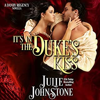It's in the Duke's Kiss audiobook cover art