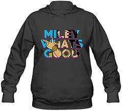 m07h sudadera para hombre Miley, lo que de buena? Negro