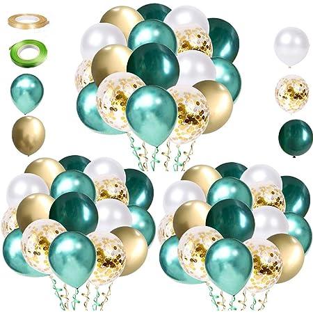 Arche Ballon Anniversaire VAINECHAY D/écorations Anniversaire Gar/çon Blue Ballons Marriage Confettis Latex avec Ruban Outil pour Gar/çons B/éb/é Douche d/écor