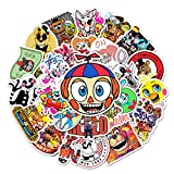 Five Nights at Freddy's Stickers 50pcs Waterproof Cute Fashion Stickers,Very Suitable for Laptops,Suitcases,Kettles,Cars,Phones,Skateboards,Bicycles,Cups,Bumpers,Motorcycles,Guitars and Snowboards.