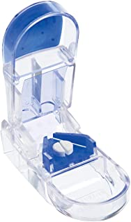 Apex Ultra Pill Cutter - Pill Splitter With Retracting Blade Guard - For Cutting Small Pills or Large Pills In Half