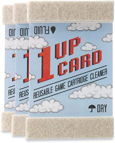 Universal Game Cartridge Cleaner 3 Card Pack by 1UPCard