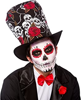 day of the dead costume hat