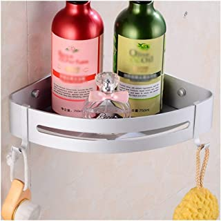 Étagère d'angle Douche Salle de douche d'angle du plateau, douche Caddy Panier de rangement Etagère Salle de bains étagère...