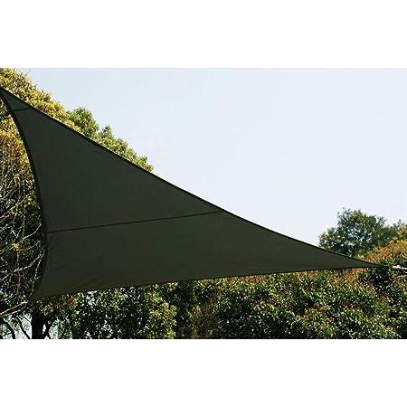Gris 3 x 3 x 3 m Hesp/éride Toile Solaire//Voile dombrage Anori
