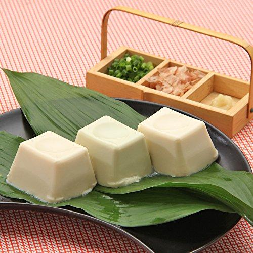 京のお豆腐お取り寄せギフトセット〔お豆腐(プレーン、枝豆の香り、ゆずの香り)〕