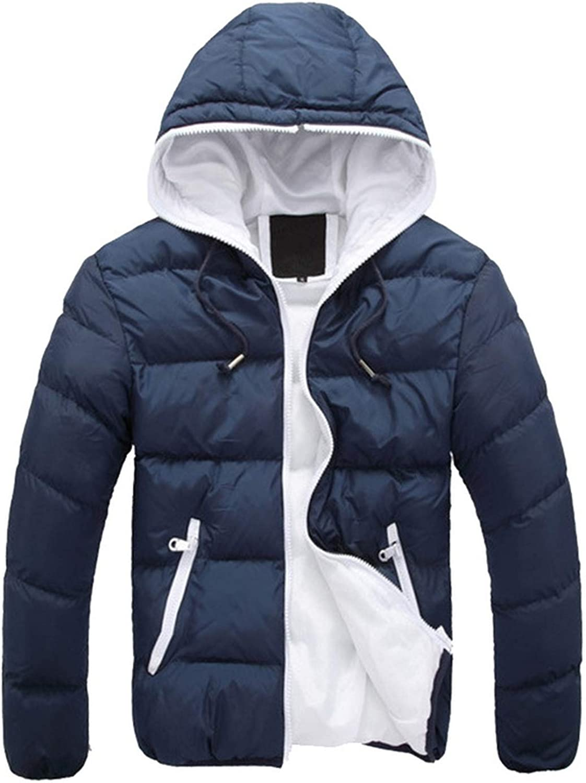 950b10e2f59 Men's Jacket Jacket Jacket Warm Coat Jacket Mens Parkas Jackets Men Coat  Zipper Stand Collar Jacket e1dd12