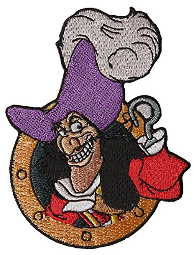 Peter PAN Captain Hook Patch Standard
