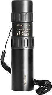 Högkvalitativa svarta kikare, dimbar zoom, monokular, högupplöst infällbar, miljövänlig nattsyn, klar och ljus, vandring o...