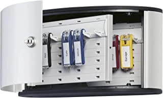 Durable 196023 Keybox Armoire pour 12 Clés Fermeture par Serrure à Clés - Avec 6 Porte-clés KEY CLIP