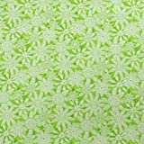 Blank Quilting Stoff Mandala Tango Grün 100% Baumwolle