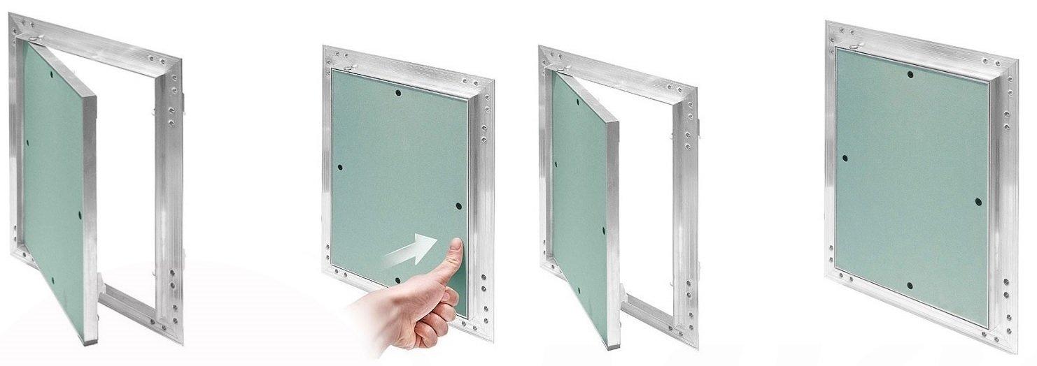 Tapa para revisión GK de Einlage verde 25 mm yeso pladur Mantenimiento Puerta aluminio: Amazon.es: Bricolaje y herramientas