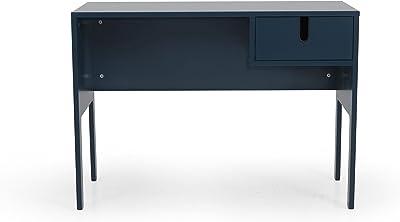 Tenzo 8572-023 UNO Designer Schreibtisch, 75 x 105 x 50cm (HxBxT), Blau-Petrol, 105 x 50 x 75 cm