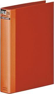 マルマン メタルバインダー ダブロック ファイルB5 26穴 背幅44mm レッド F679R-01
