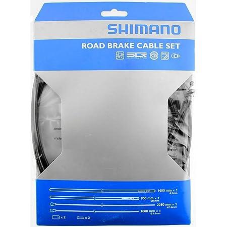 Fasi Brake Cable Set 80//180cm Univ Niro//Teflon with Pods Black Bicycle