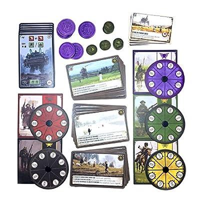Scythe Board Game - All promo items by Stonamer Games