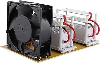 Generador de ozono 20g/h, máquina de desinfección de ozono 220V ventilador generador de ozono, máquina de desinfección generador de ozono esterilizador de aire ventilador purificador herramienta