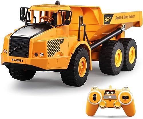 Ahorre 60% de descuento y envío rápido a todo el mundo. SXPC 2.4G Coche de Control Remoto articulado camión camión camión volquete de ingeniería electrónica Modelo de construcción de vehículos Juguetes para Niños Juguetes de Regalo  Compra calidad 100% autentica