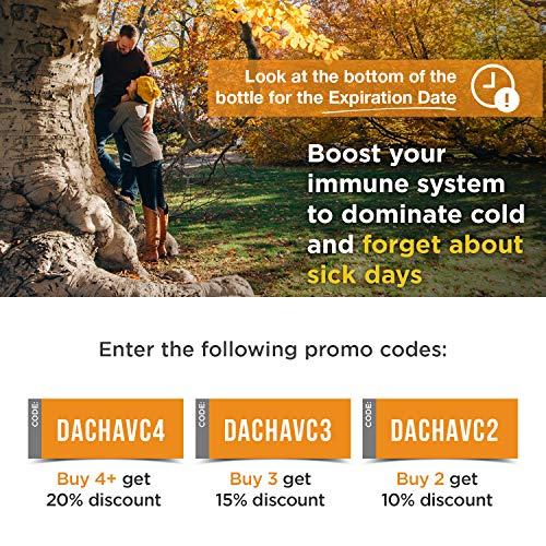 61J5dO SMpL - DACHA Nutrition Natural Liposomal Vitamin C - Immune System & Collagen Booster, High Absorption Fat Soluble VIT C, Buffered 1200mg, Anti Aging Skin Vitamins, Anti Inflammatory, Sunflower Lecithin