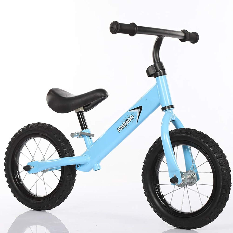 almacén al por mayor FJ-MC 12  Bicicleta de Equilibrio, Altura del del del Asiento Ajustable, Sin Pedal Bicicleta de Entrenamiento para Caminar, para Niños de 2 a 6 años y Niños pequeños - Capacidad 45kg,azul  costo real