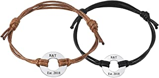 couple rope bracelets
