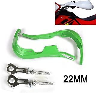 """22mm 7/8""""Hand Guards Handguards For Kawasaki KX65 KX85 KX125 KX250 KX500 KX250F KX450F KLX450R KLX150 KLX250 Motorcycle Motocross (Green)"""